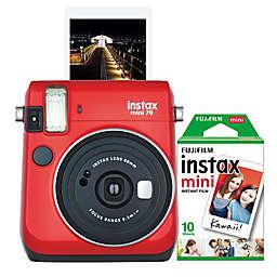 Fujifilm Instax Mini 70 Camera in Red