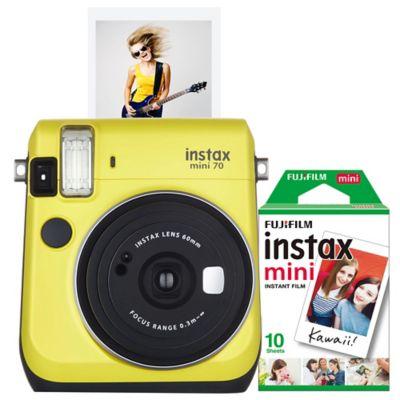 Fujifilm Instax Mini 70 Camera in Yellow