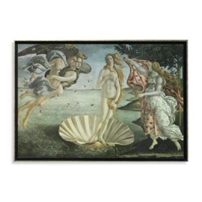 The Birth Of Venus By Sandro Botticelli Wall Art Bed