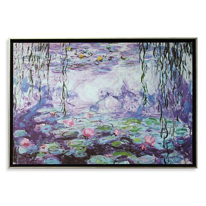 Waterlilies Iv By Claude Monet Wall Art Bed Bath Beyond