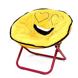 Emoji Polyester Upholstered Emoji Chair