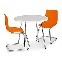 P'kolino 3-Piece Modern Kid's Round Table and Chairs