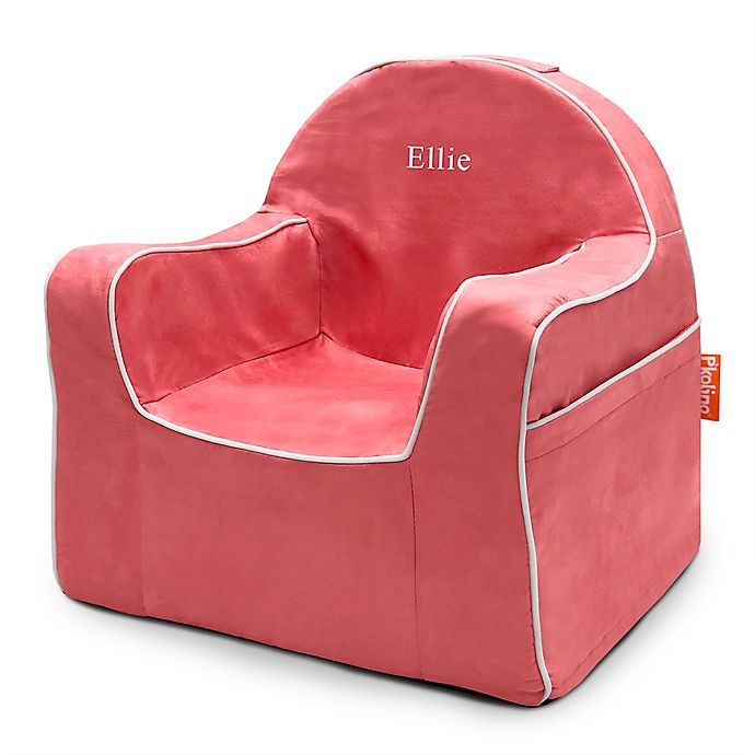 Alternate image 1 for P'kolino® Little Reader Chair with White Piping