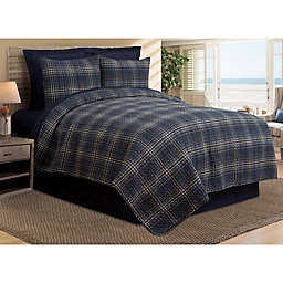 Harvey Plaid Reversible Twin Quilt