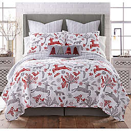 Levtex Home Winterland Reversible Quilt Set