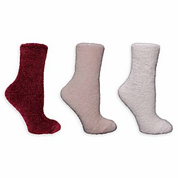 Clear Creek 3-Pack Women's Chenille Socks
