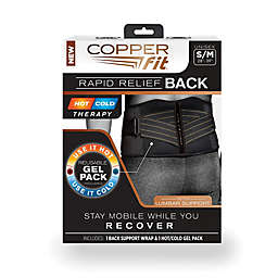 900c670e64 Copper Fit® Rapid Relief Back Support in Black