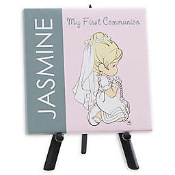 Personalized Precious Moments® First Communion Canvas Print