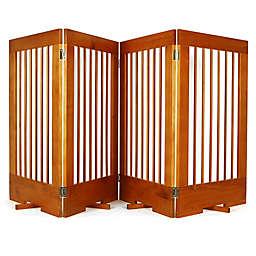 Cardinal Gates 4-Panel Freestanding Pet Gate