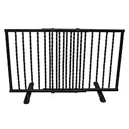 Cardinal Gates Step-Over Wrought Iron Pet Gate