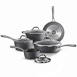 Tramontina® Gourmet Nonstick Induction Aluminum 9-Piece Cookware Set in Slate Grey