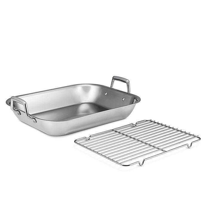 Alternate image 1 for Tramontina® Gourmet Prima 18.75-Inch Stainless Steel Roasting Pan