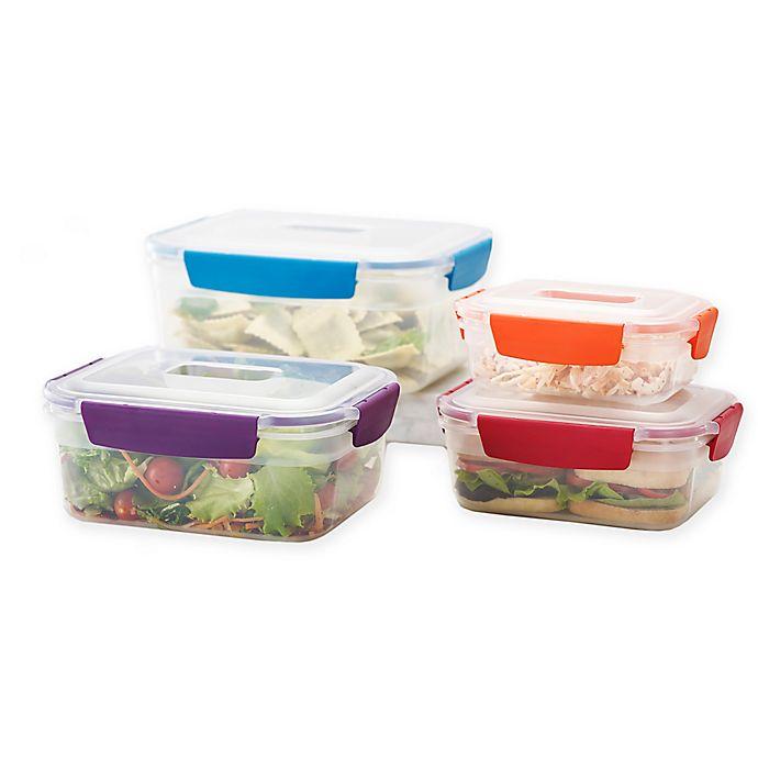 ad1571c523db Joseph Joseph® Nest Lock™ 8-Piece Multicolor Food Storage Container Set