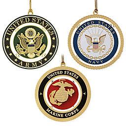Beacon Design Military Holiday Ornaments