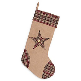 20-Inch Clement Star Christmas Stocking