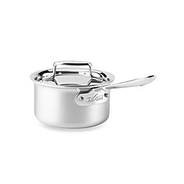 All-Clad d5® Brushed Stainless Steel 1.5 qt. Covered Saucepan