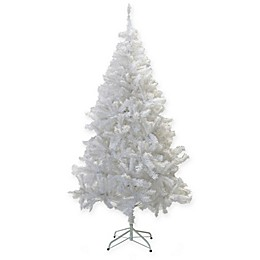 Perfect Holiday Crystal Artificial Christmas Tree in White