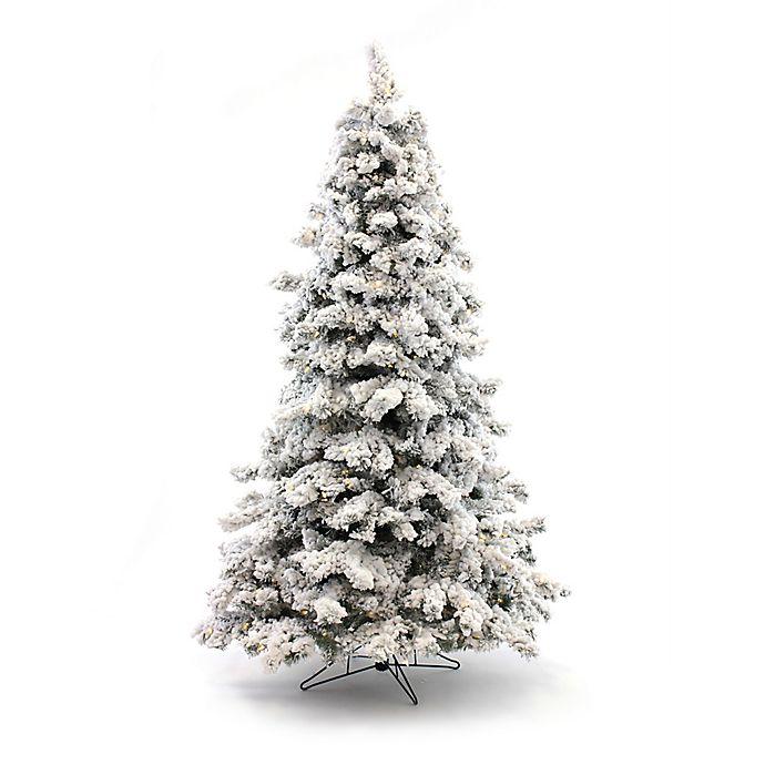 Pre Lit Flocked Artificial Christmas Trees: Perfect Holiday Pre-Lit Flocked Artificial Christmas Tree