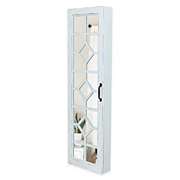 FirsTime Eloise Jewelry Armoire in White