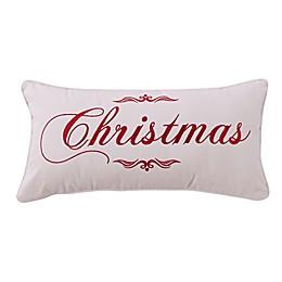 Levtex Home Merry Way Christmas Oblong Throw Pillow