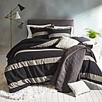 Suffolk Full/Queen Comforter Set in Charcoal