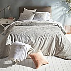 Shanti Full/Queen Comforter Set in Grey