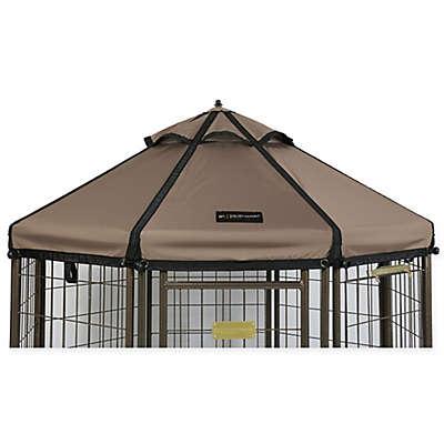 Advantek 3-Foot Gazebo Canopy Cover in Taupe