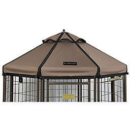 Advantek 3-Foot Gazebo Canopy Cover in Taupe