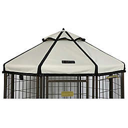 Advantek 4-Foot Gazebo Pet  Canopy Cover in Sand
