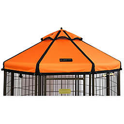 Advantek 4-Foot Gazebo Pet Canopy Cover in Sunset