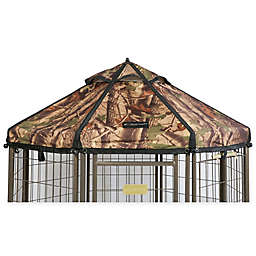 Advantek 4-Foot Gazebo Pet Canopy in Forest