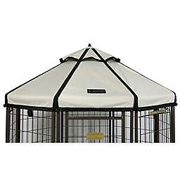 Advantek 8-Foot Gazebo Canopy Cover in Sand