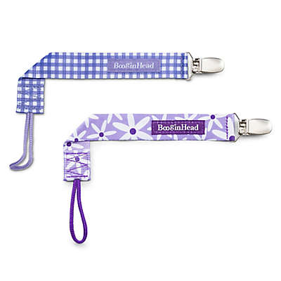 BooginHead® PaciGrip 2-Pack Pacifier Straps