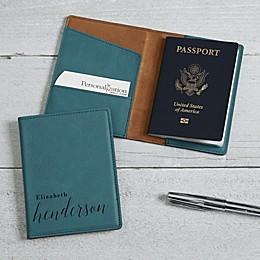 Stylish Name Passport Holder