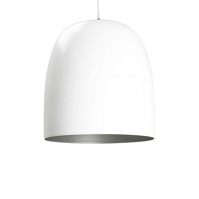 Alternate image 1 for Kalimero White Matte Pendant Lamp