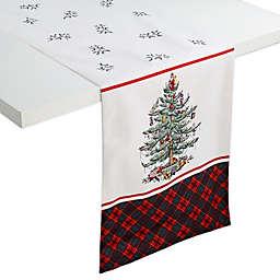 Spode® Christmas Tree Tartan Table Runner