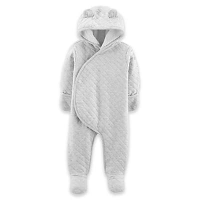 carter's® Quilted Coverall in Grey