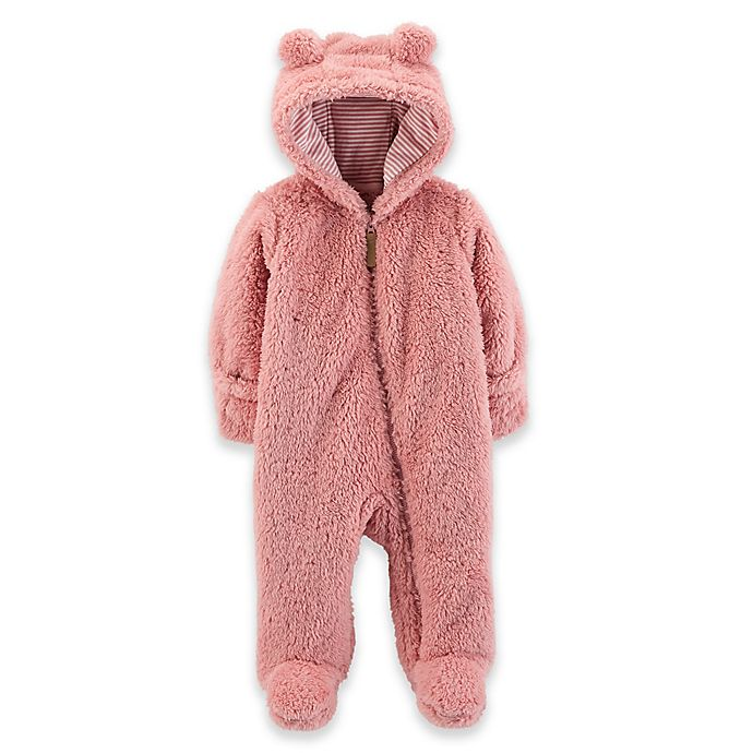 Alternate image 1 for carter's® Sherpa-Lined Coverall