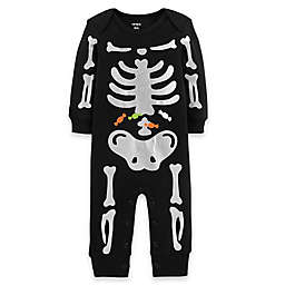 carter's® Halloween Skeleton Jumpsuit
