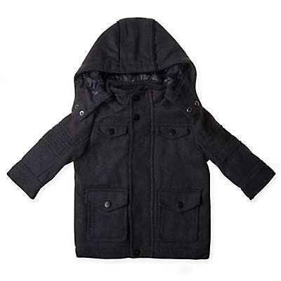 Urban Republic Hooded Jacket in Charcoal