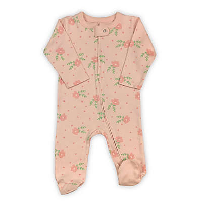 Finn by Finn & Emma Roses Organic Cotton Footie