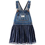 OshKosh B'gosh® Size 3-6M Denim and Tulle Skortall in Navy