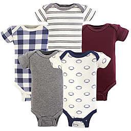Hudson Baby® Preemie 5-Pack Football Bodysuits