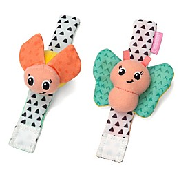 infantino® Butterfly and Ladybug Wrist Rattles (Set of 2)