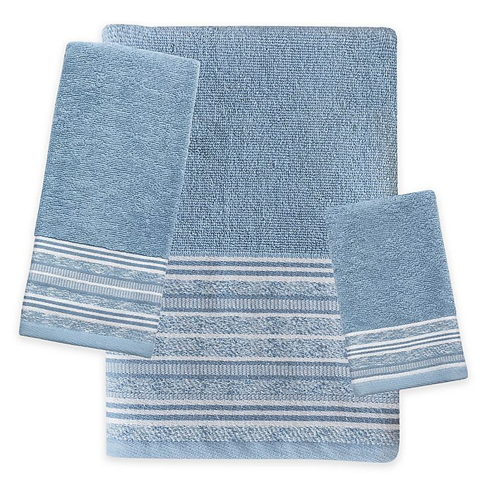 Alternate image 1 for Croscill® Nomad Bath Towel Collection in Blue