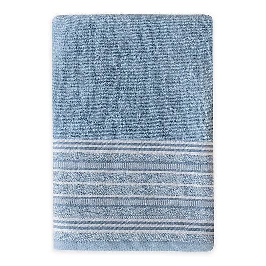 Alternate image 1 for Croscill® Nomad Bath Towel in Blue