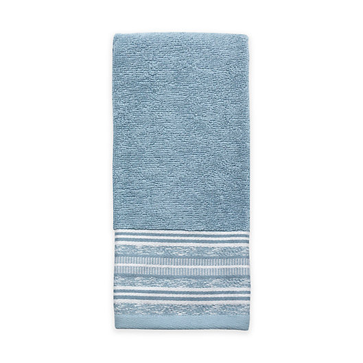 Alternate image 1 for Croscill® Nomad Hand Towel in Blue