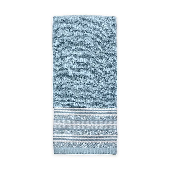 Croscill Hand Towels: Croscill® Nomad Hand Towel In Blue