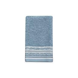 Croscill® Nomad Fingertip Towel in Blue