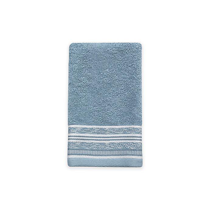 Alternate image 1 for Croscill® Nomad Fingertip Towel in Blue